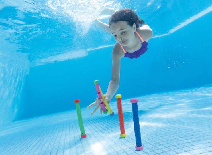 Underwater Dive Play Sticks