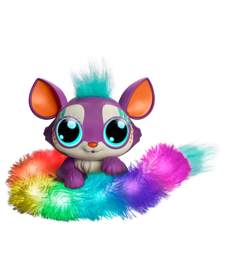 Lil' Gleemerz Adorbrite Furry Friend, Light Up Interactive Talking Toy