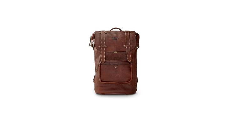 King Ranch Saddle Stitch Leather Backpack