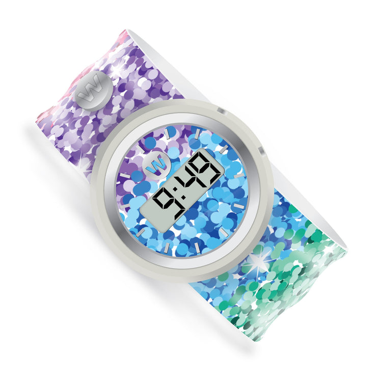 Watchitude Slap Watch Digital Sassy Sequins