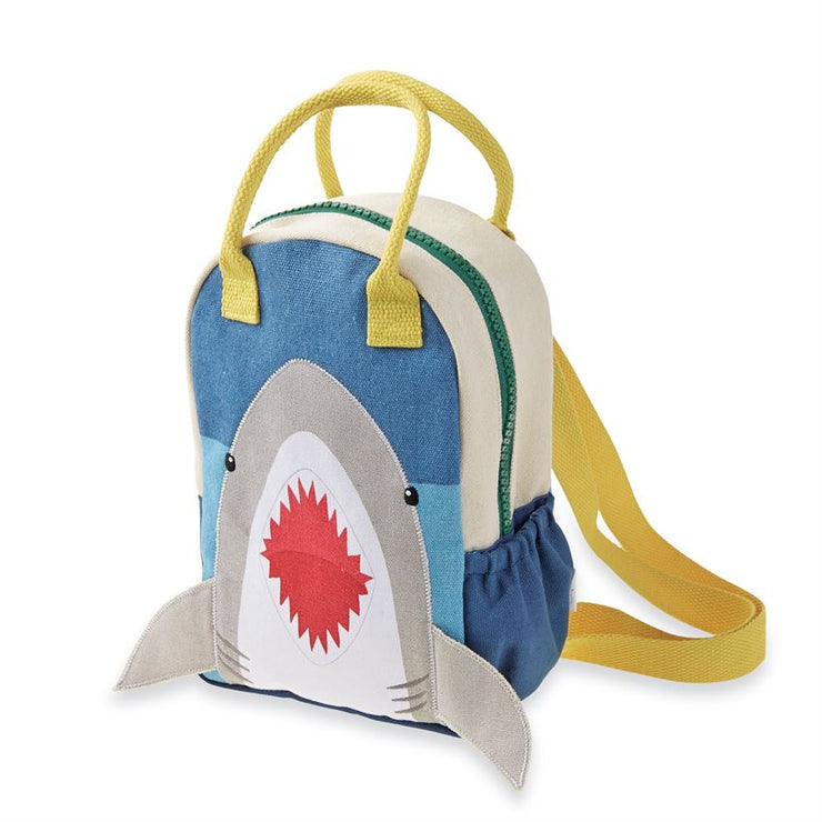 Canvas Shark Backpack