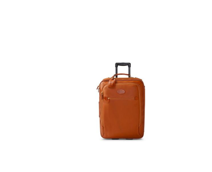 "King Ranch 22"" Leather Rolling Suitcase -Sombra Docil"
