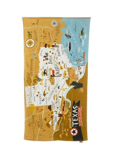 Spartina Texas Beach Towel