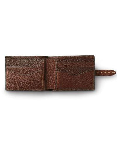 King Ranch | Saddle Stitch Leather Bi-Fold Wallet