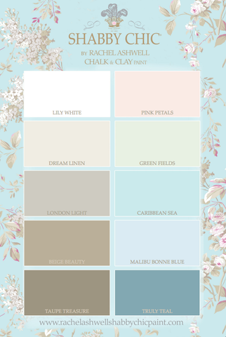 Shabby Chic® Caulk & Clay Paint by Rachel Ashwell