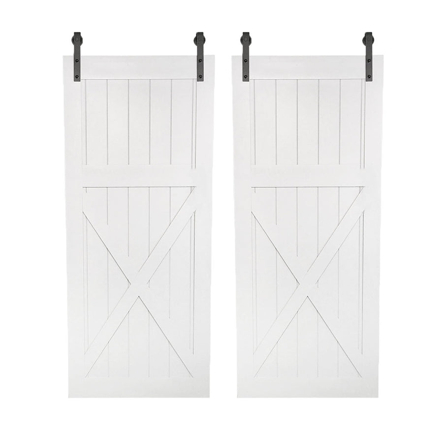 "BI-PARTING BARN DOORS: ""High X"" Style"