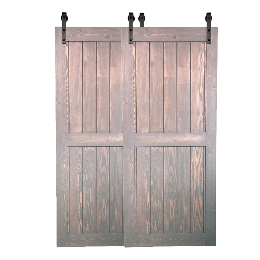 "BYPASS BARN DOORS-""Pure"" Style"