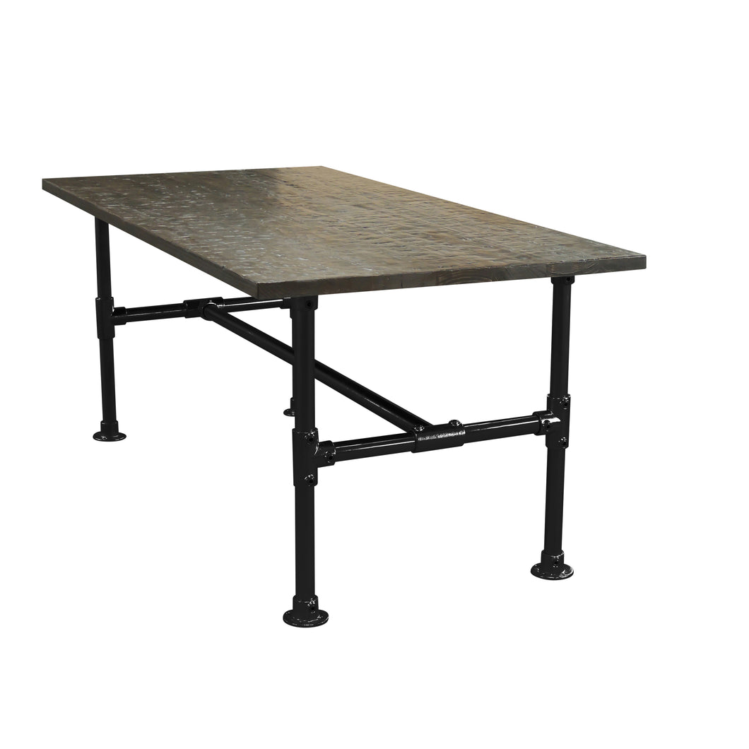 Peyton-Modern Industrial all Pipe Conference Room Table