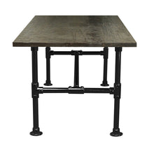 Load image into Gallery viewer, Peyton-Modern Industrial all Pipe Conference Room Table