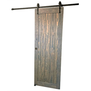 pure style barn door, barn door grey, grey wood barn door