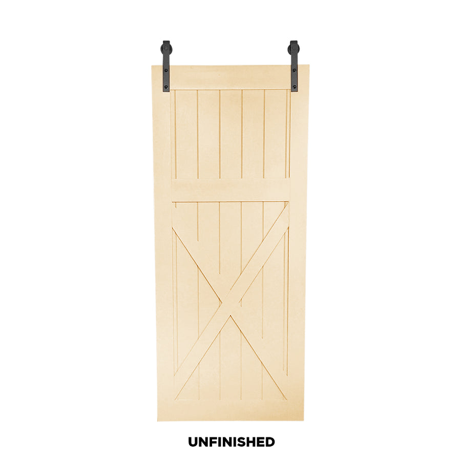 "SINGLE BARN DOOR: ""High X"" Style"