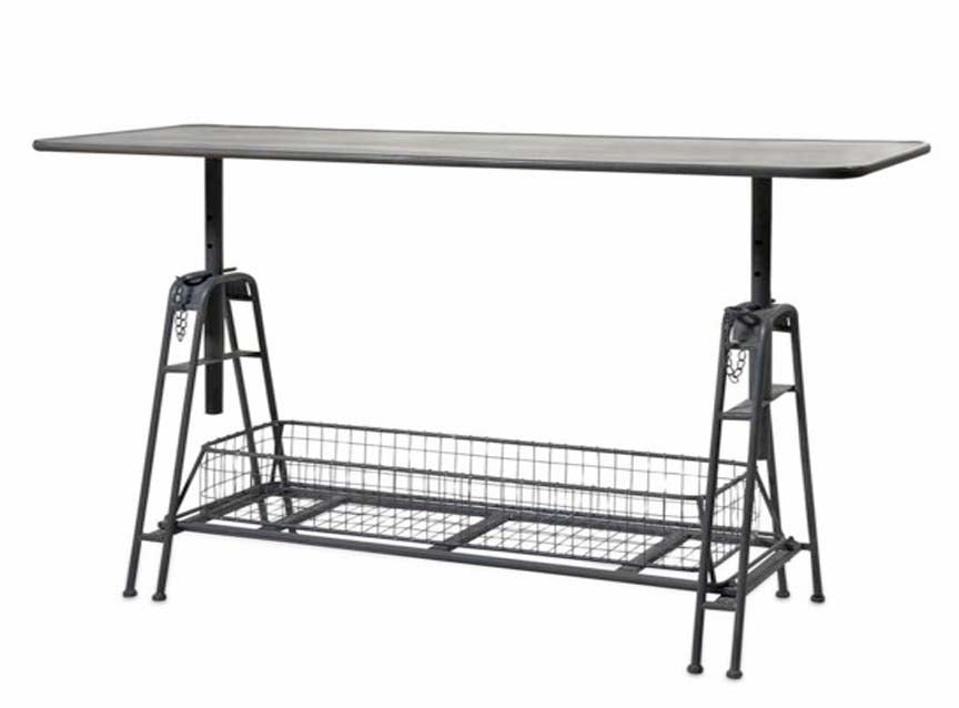 Adjustable Metal Work Table