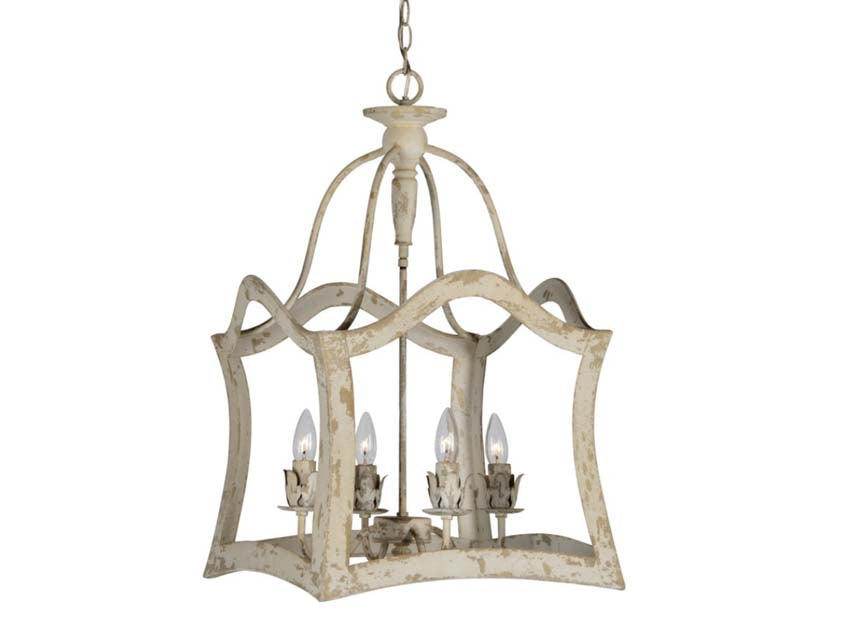 arched shabby chic light aubrey style white farmhouse light
