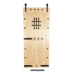 "SINGLE BARN DOOR: ""Castle"" Style"