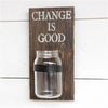 change is good jar, change collection jar,