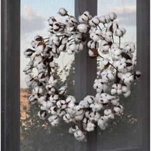 cotton wreath, farmhouse cotton wreath, farmhouse wreath