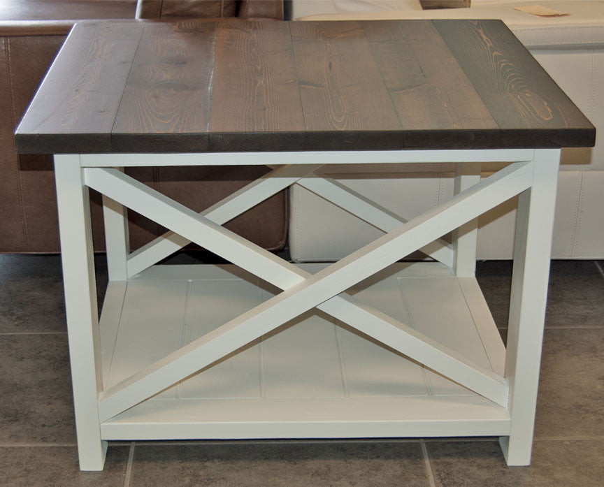 Custom Made Farmhouse End Table
