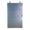 Designer Barn door, Barn door with x, barn door with 3 x