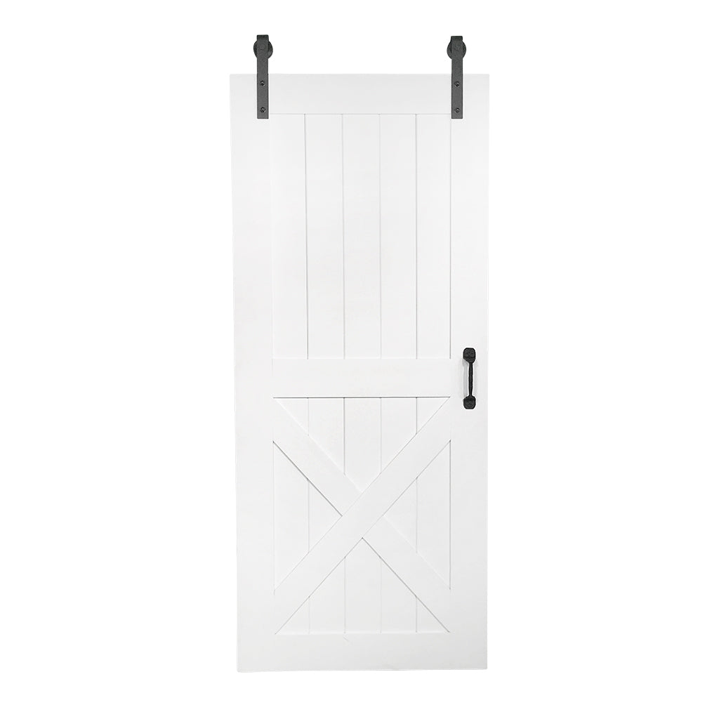 White Interior Door Sliding, White Barn Door, White Interior Sliding Barn  Door, Custom