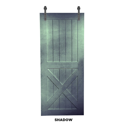 "SINGLE BARN DOOR: ""X"" Style"