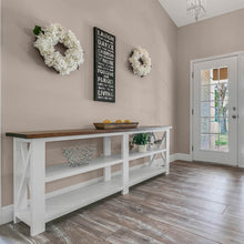 Load image into Gallery viewer, Isabel -Farmhouse Console Table