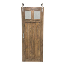 "Load image into Gallery viewer, SINGLE BARN DOOR: ""Glass Craftsman"" Style"