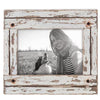 white shabby chic 8x6.5 photo frame, shabby chic photo frame