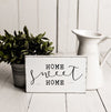 home sweet home wooden sign, wooden home sweet home sign, perfect housewarming gift