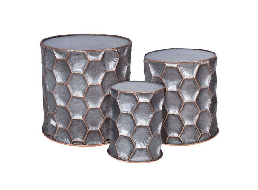 Honeycomb Side Tables