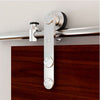 Bi Parting: Stainless Steel European Style Barn Door Track with Strap Hardware
