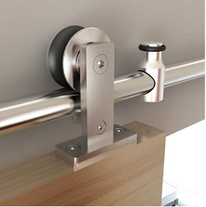Bi Parting: Stainless Steel Top Mount European Style Track