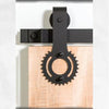 Designer Series: Sprocket Barn Door Track and Hardware
