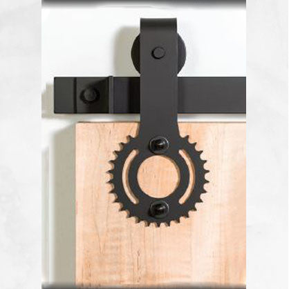 Bi-Parting: Sprocket Barn Door Track