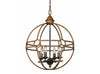 round metal light,contempory light, farmhouse light,chandlier