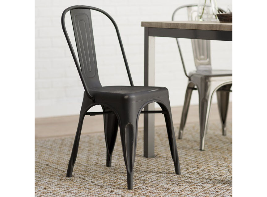 Industrial Black Metal Chair  sc 1 st  Mollyu0027s Marketplace & Dining u0026 Kitchen Furniture - Mollyu0027s Marketplace