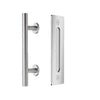 Double Door-Modern Barn Door Handle and Flush Pull