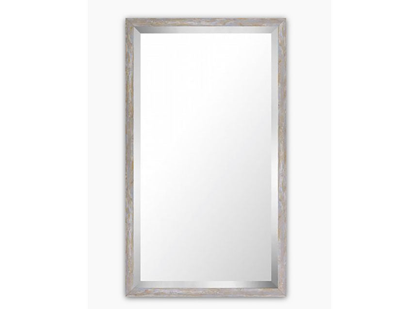 Pastal Wood Wash Mirror