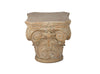 Roman Column Pedestal End Table