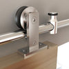 Stainless Steel Top Mount Barn Door kit in 6ft 6.6ft 10ft 12ft 14ft 16ft 18ft 20ft 22ft 24ft,