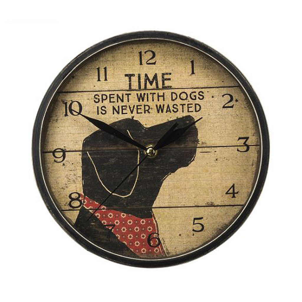 Time spent with Dogs Clock