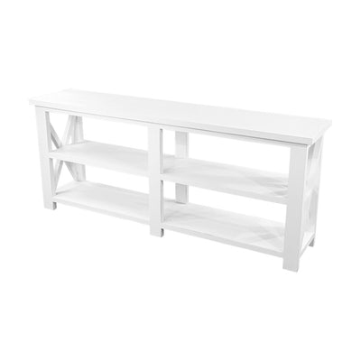 White Farmhouse console table, white farmhouse sofa table, white farmhouse hall table