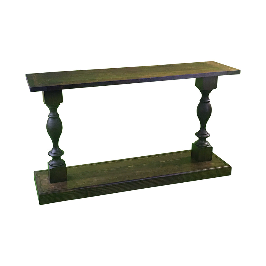balustrade table, sofa table, console table, hallway table, wooden farmhouse narrow table,