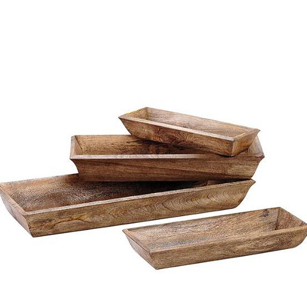 wooden lodge tray, serving trays, wooden serving trays