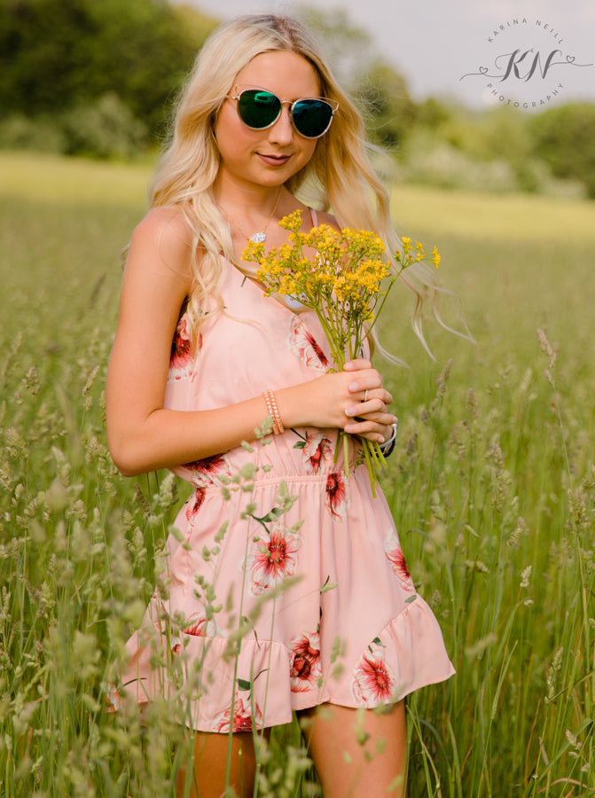 Flower Affair Romper