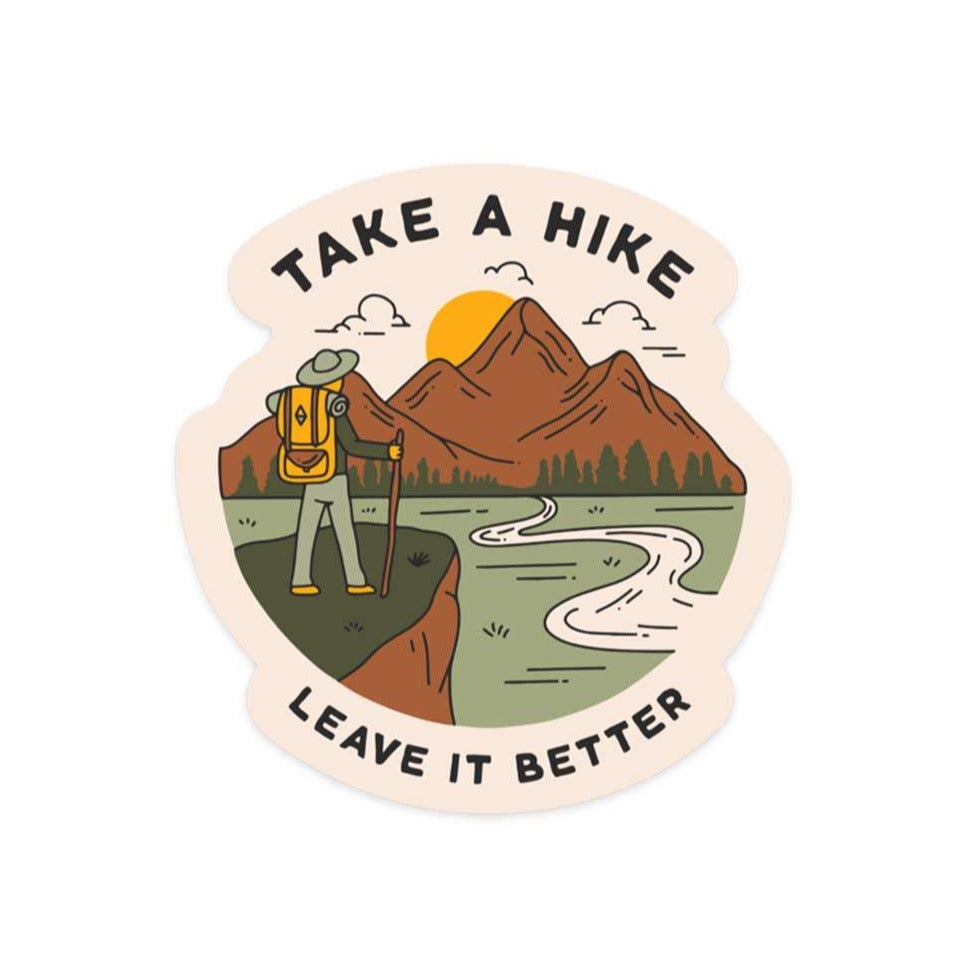 Take A Hike | Sticker