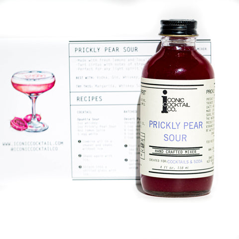 Prickly Pear Sour Mixer