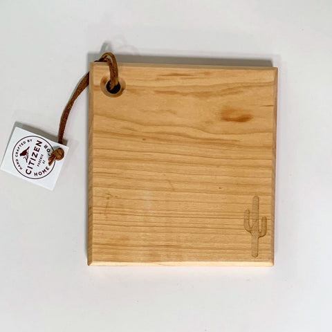 Mini Maple Saguaro Cutting Board