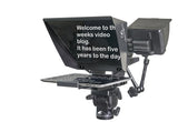 EyePrompt Macro - DSLR Tablet Teleprompter