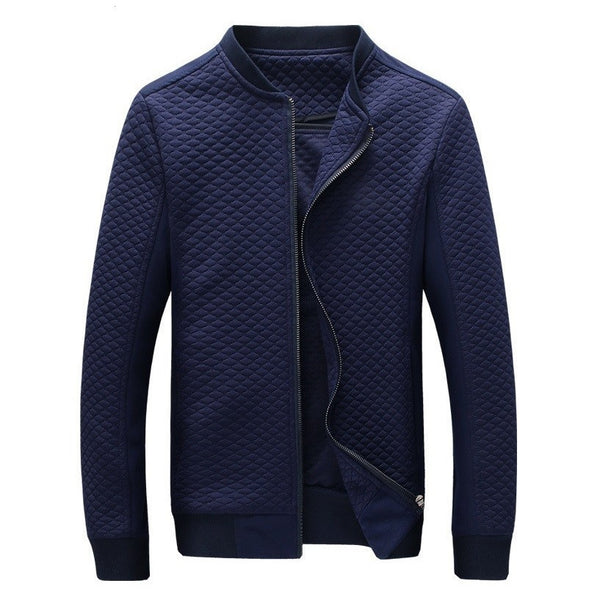 Contemporary Midnight Light Textured Jacket