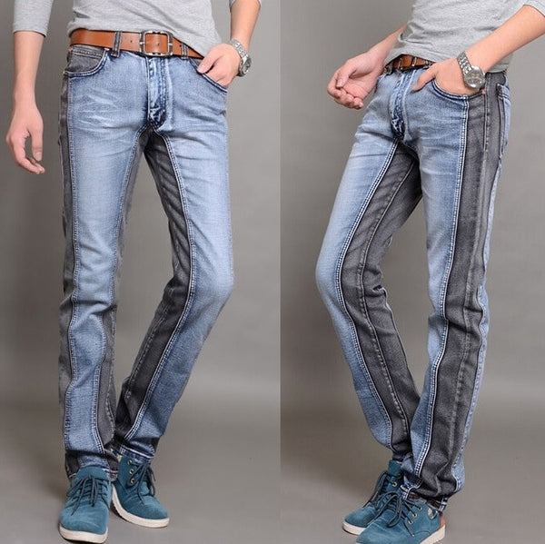 CrossOver Style Denim Jeans